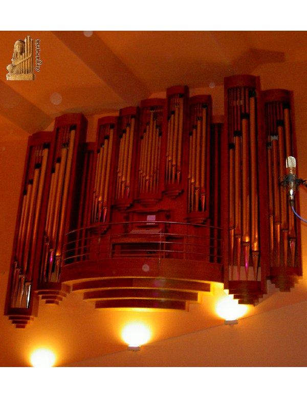 Órgano del Auditorio del Conservatorio Superior de Música de Salamanca